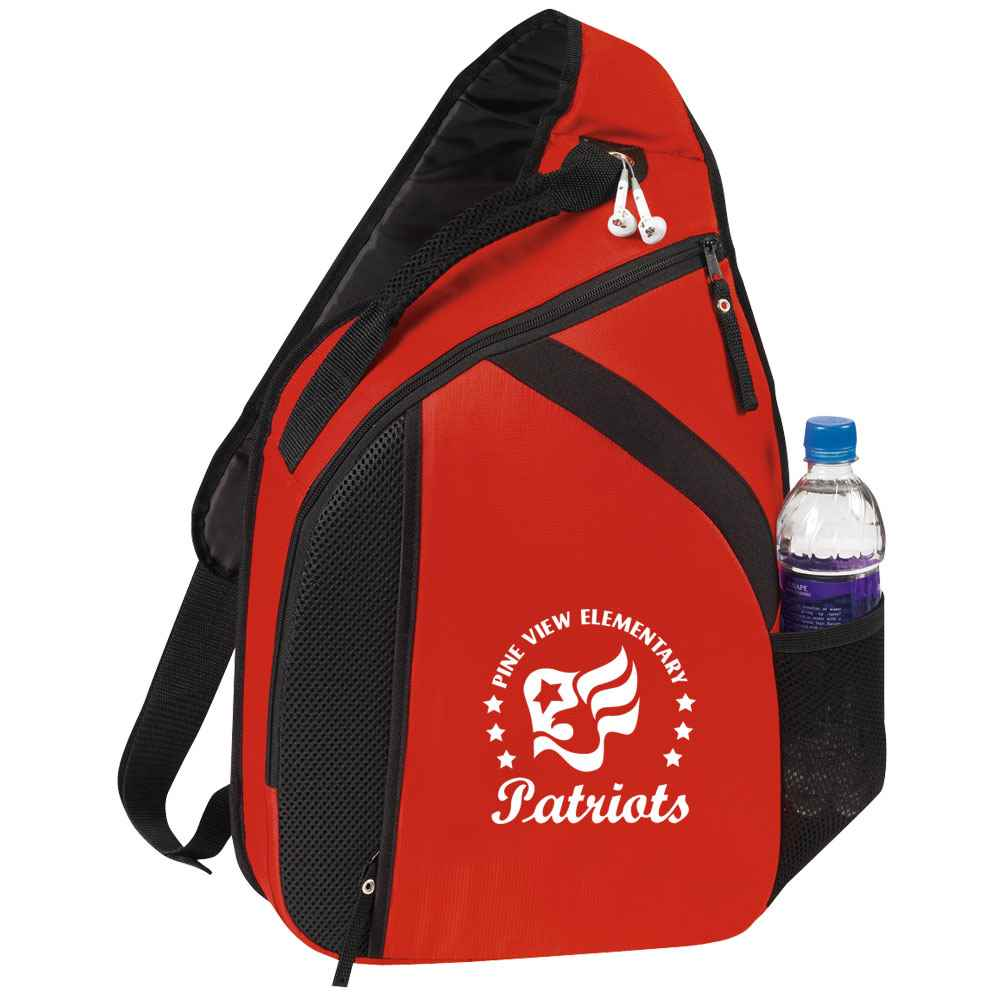Cross Laptop Mono Strap Backpack - Personalization Available