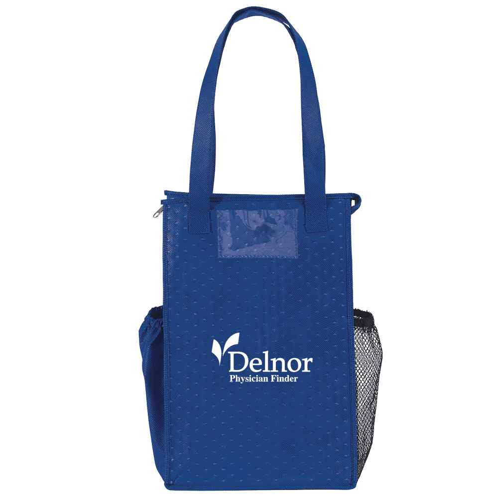 Insulated Therm-O-Super Snack Non-Woven Lunch Cooler - Personalization Available