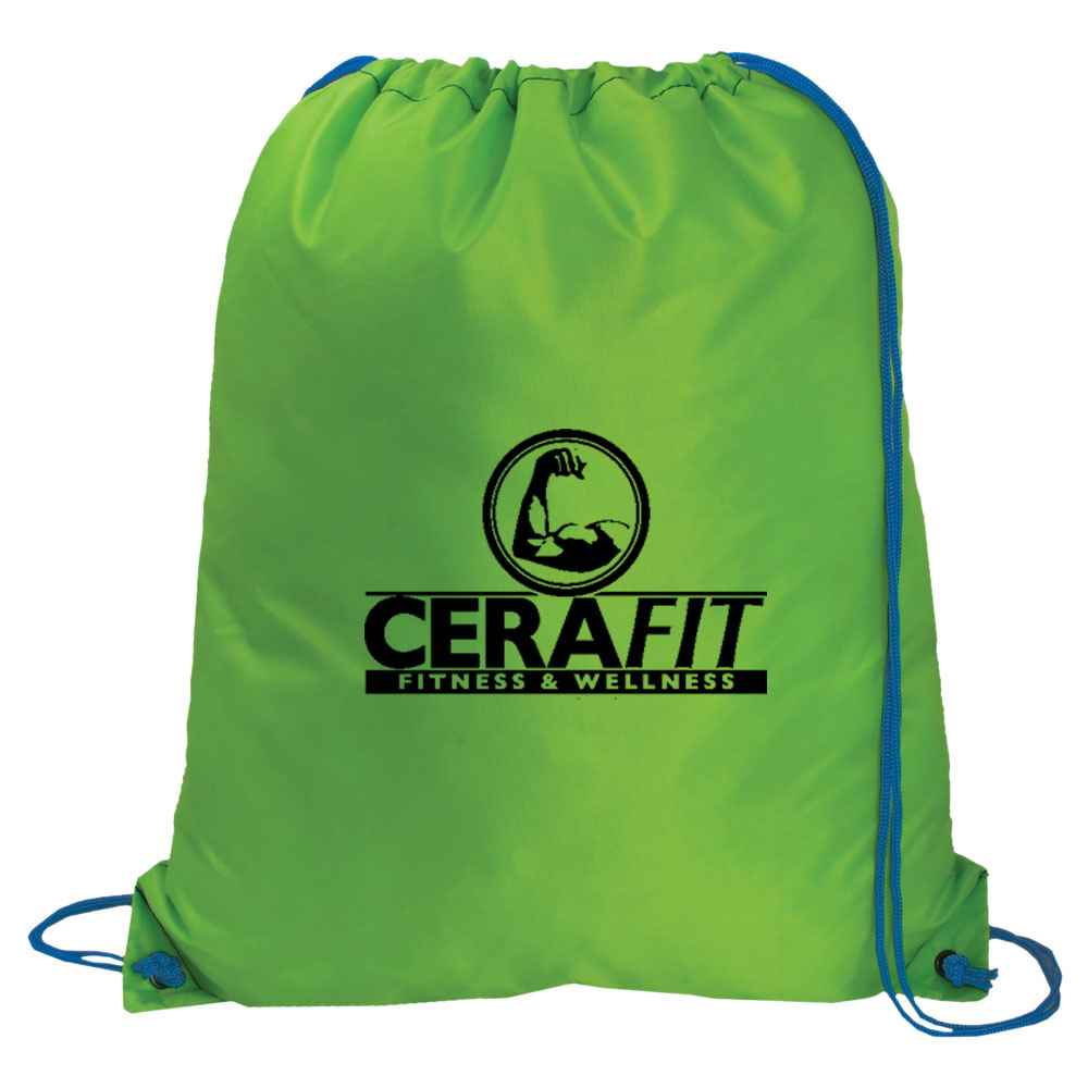 Large Drawstring Backpack - Personalization Available