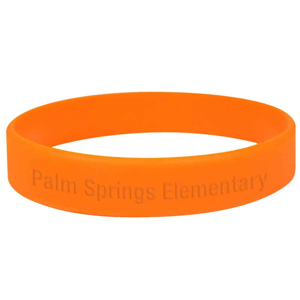 Silicone Wrist Bracelet - Personalization Available