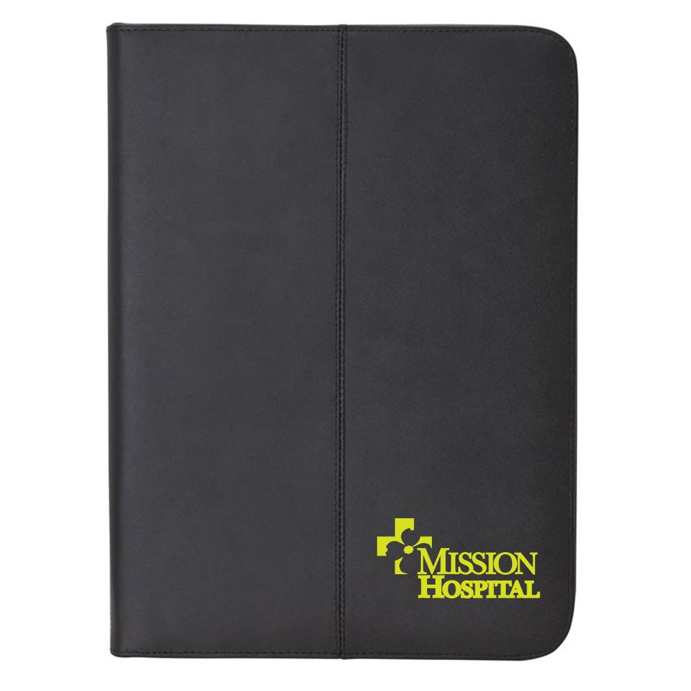 Zippered Letter Size Folio - Personalization Available