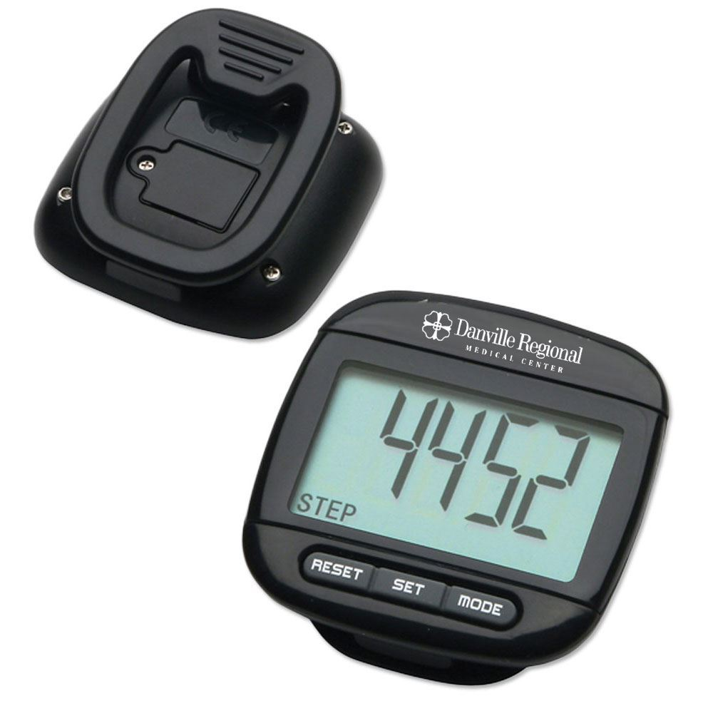 Widescreen Walker Pedometer - Personalization Available