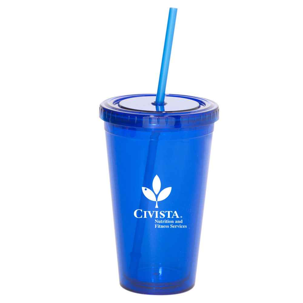 Sturdy Acrylic Tumbler 16-oz. - Personalization Available