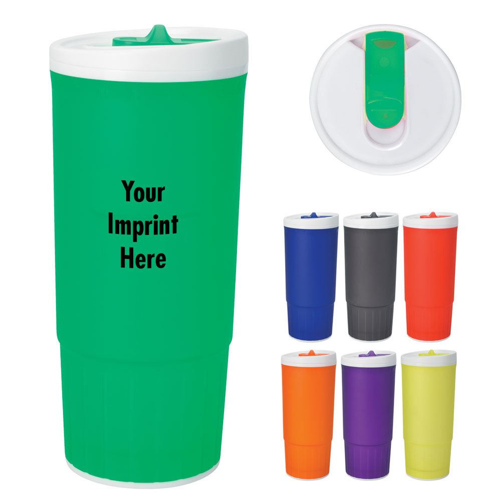 Double Wall Plastic Tumbler - Personalization Available
