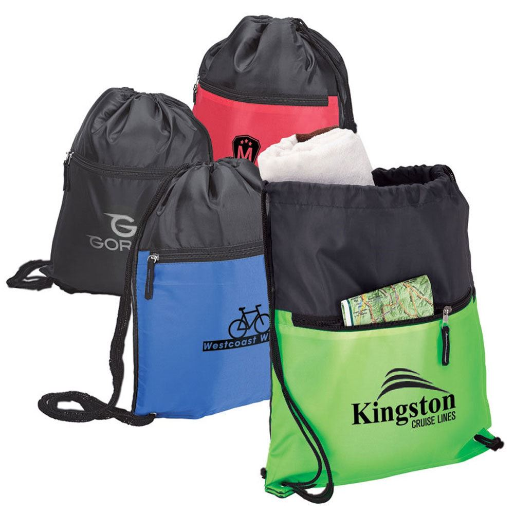 Lightweight Drawstring Sport Bag - Personalization Available