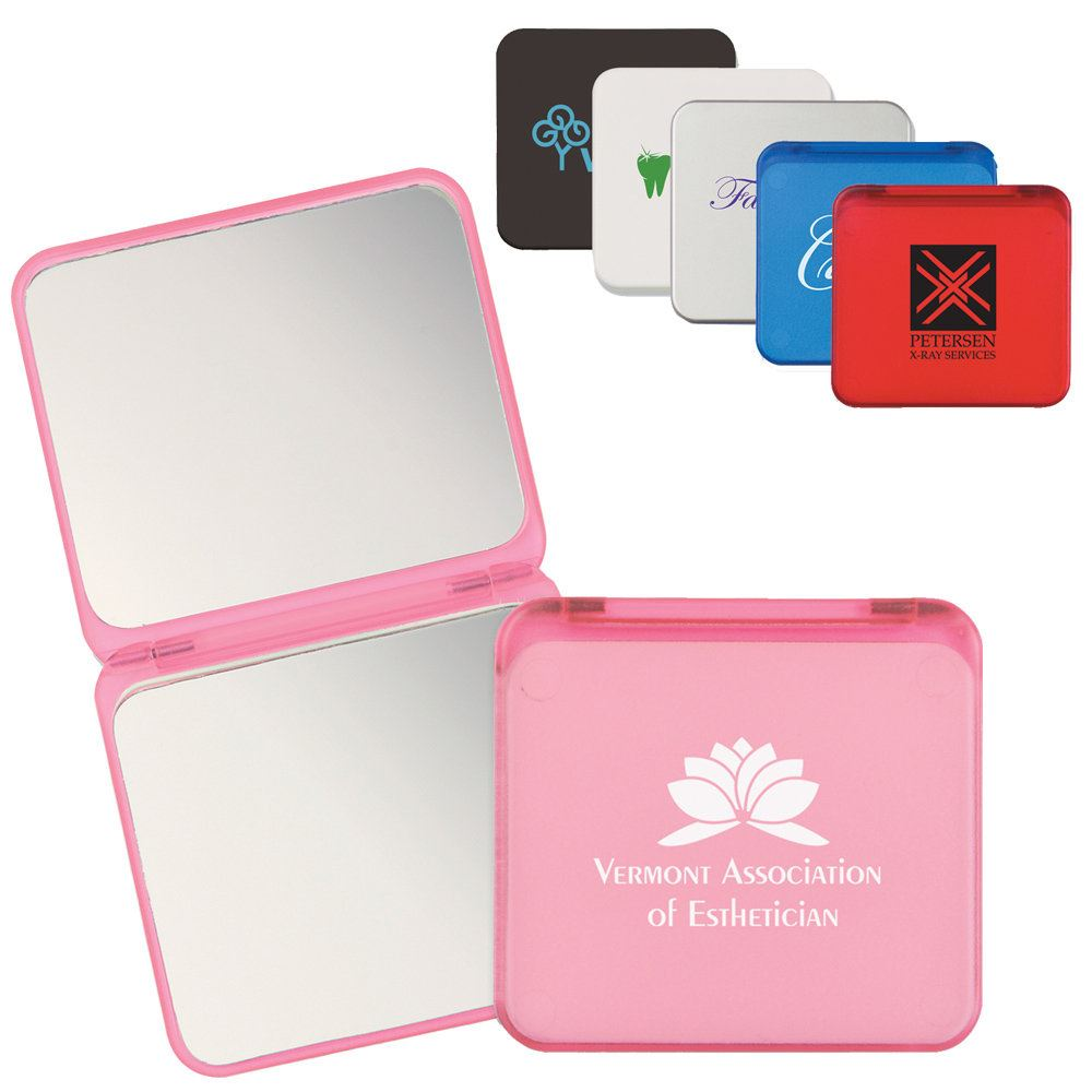 Dual Magnification Folding Mirror - Personalization Available