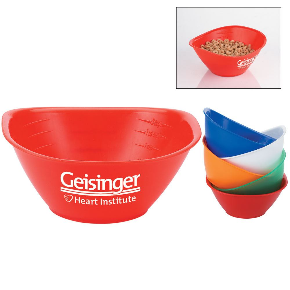 2-Cup Portion Bowl - Personalization Available