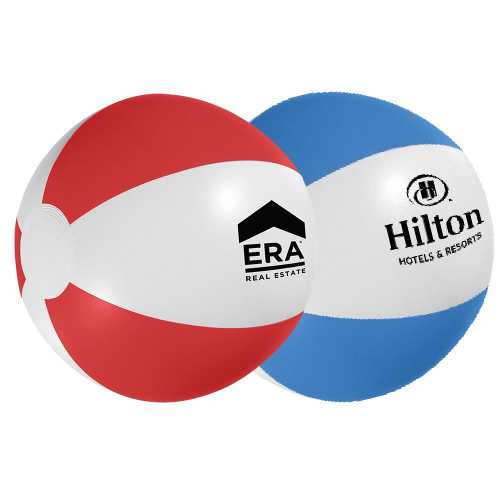 """12"""" Swirl Beach Ball - Personalization Available"""
