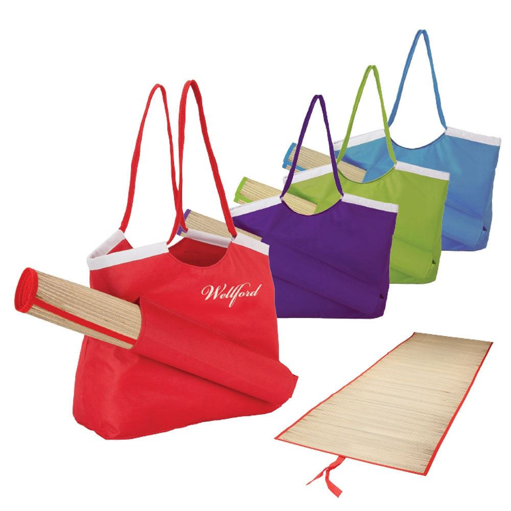 Beach Tote & Mat - Personalization Available