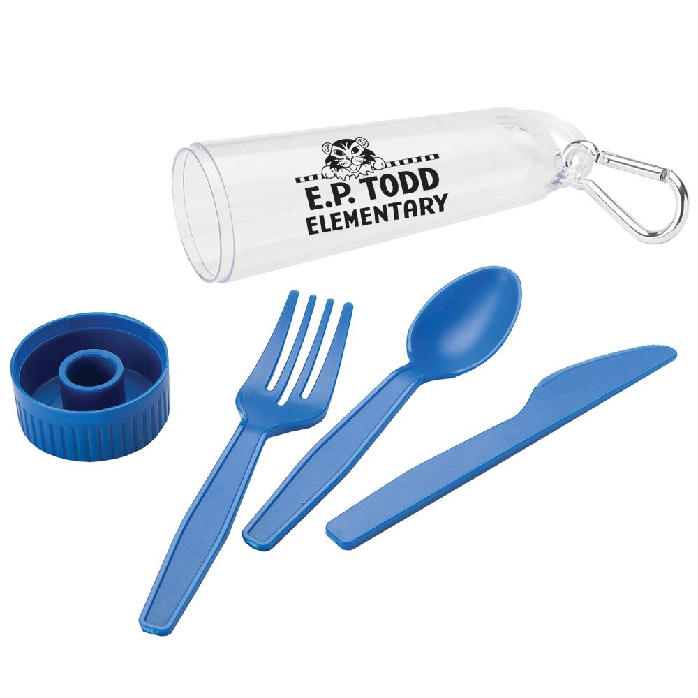 Portable Cutlery Set - Personalization Available