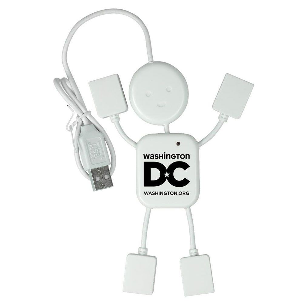 Happy USB Hub Guy - Personalization Available