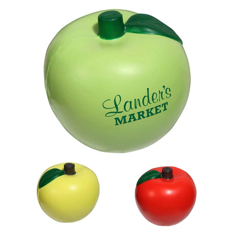 Apple-Shaped Stress Reliever - Personalization Available