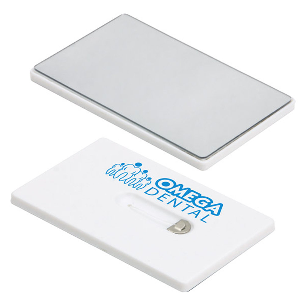 Credit Card Floss With Mirror - Personalization Available