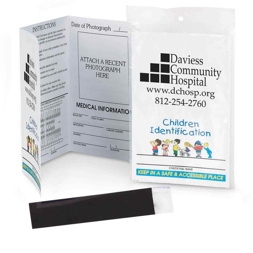 Child ID Kit - Personalization Available