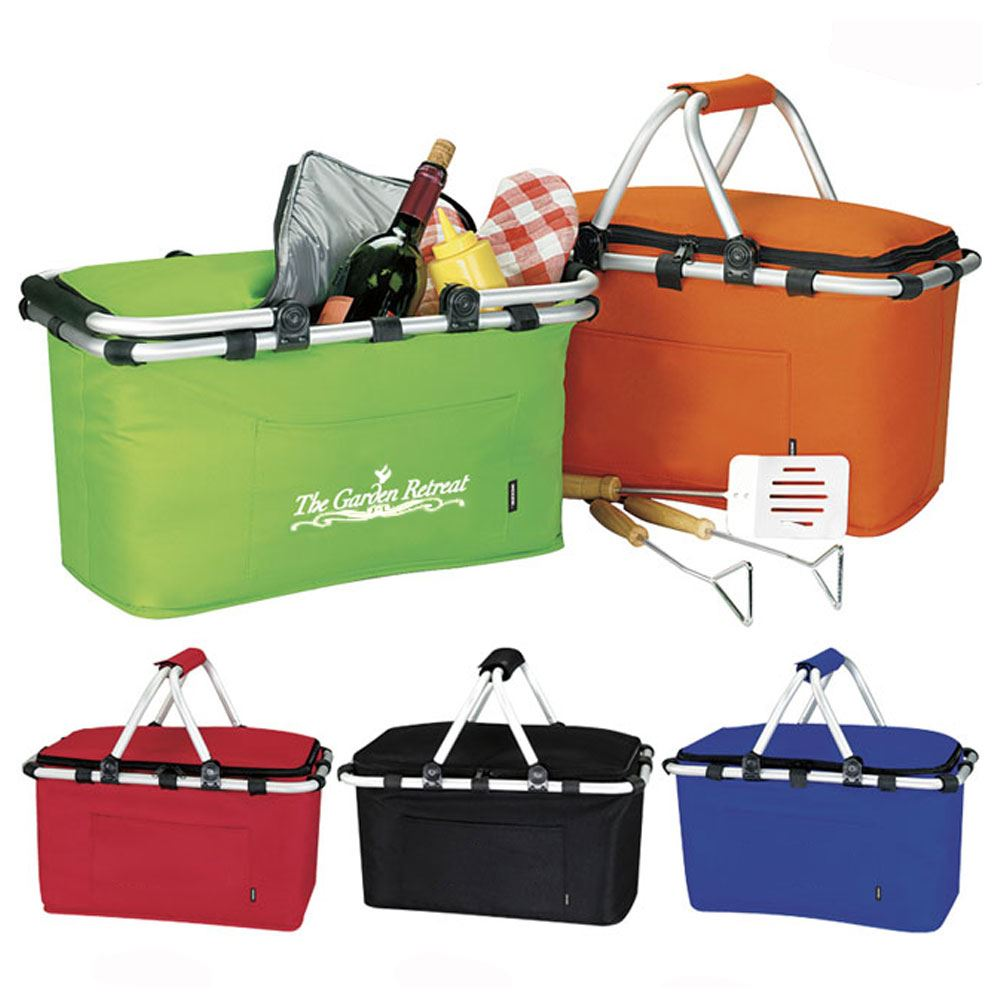 KOOZIE® Picnic Basket - Personalization Available