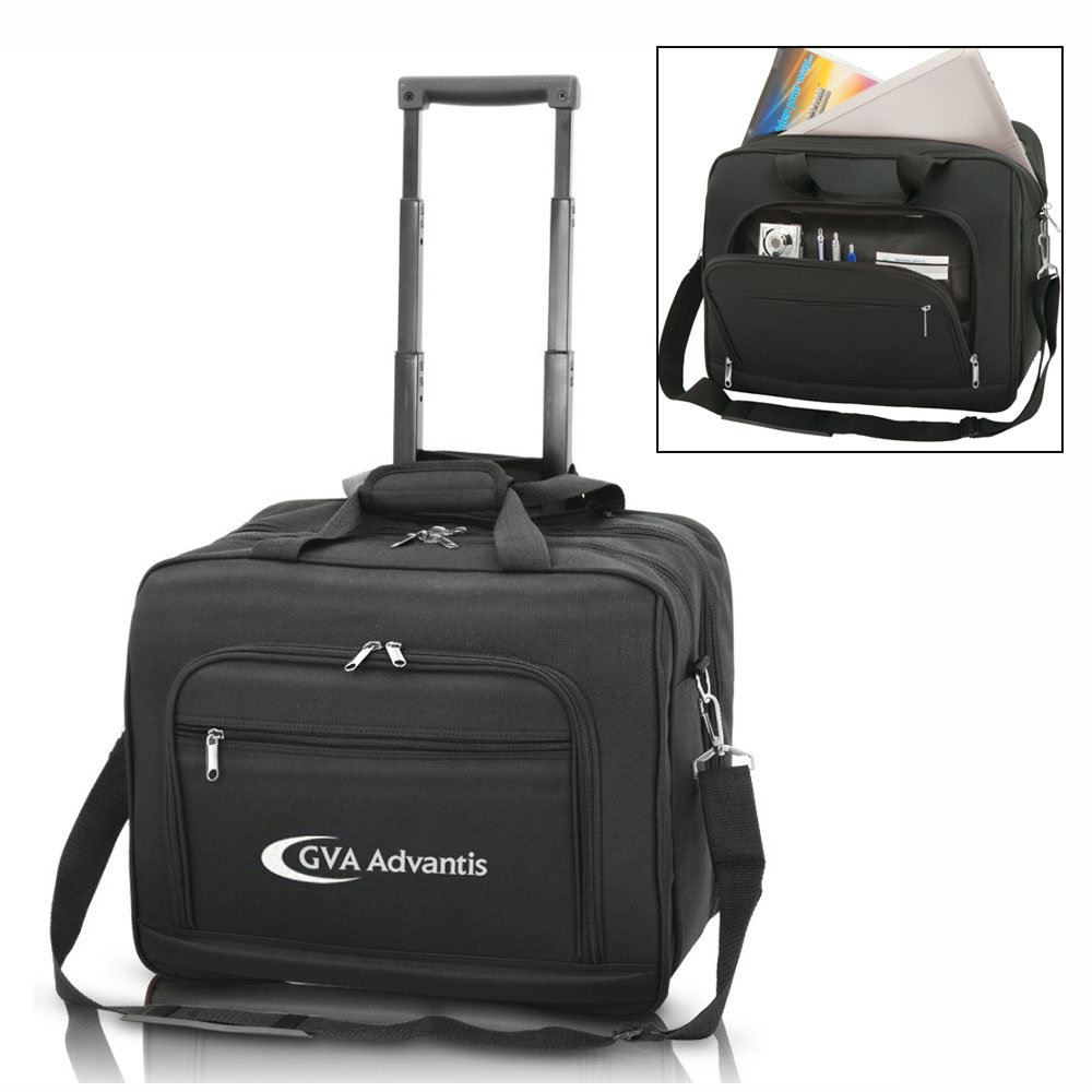 "Sanford 15.4"" Wheeled Laptop Case - Personalization Available"