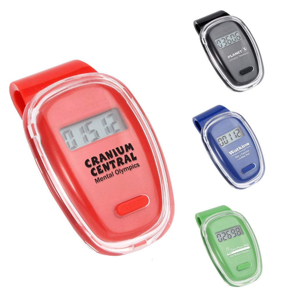 Fitness First Pedometer - Personalization Available