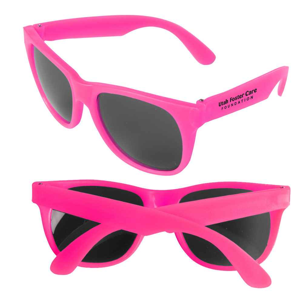 Vibrant Color Sweet Sunglasses - Personalization Available
