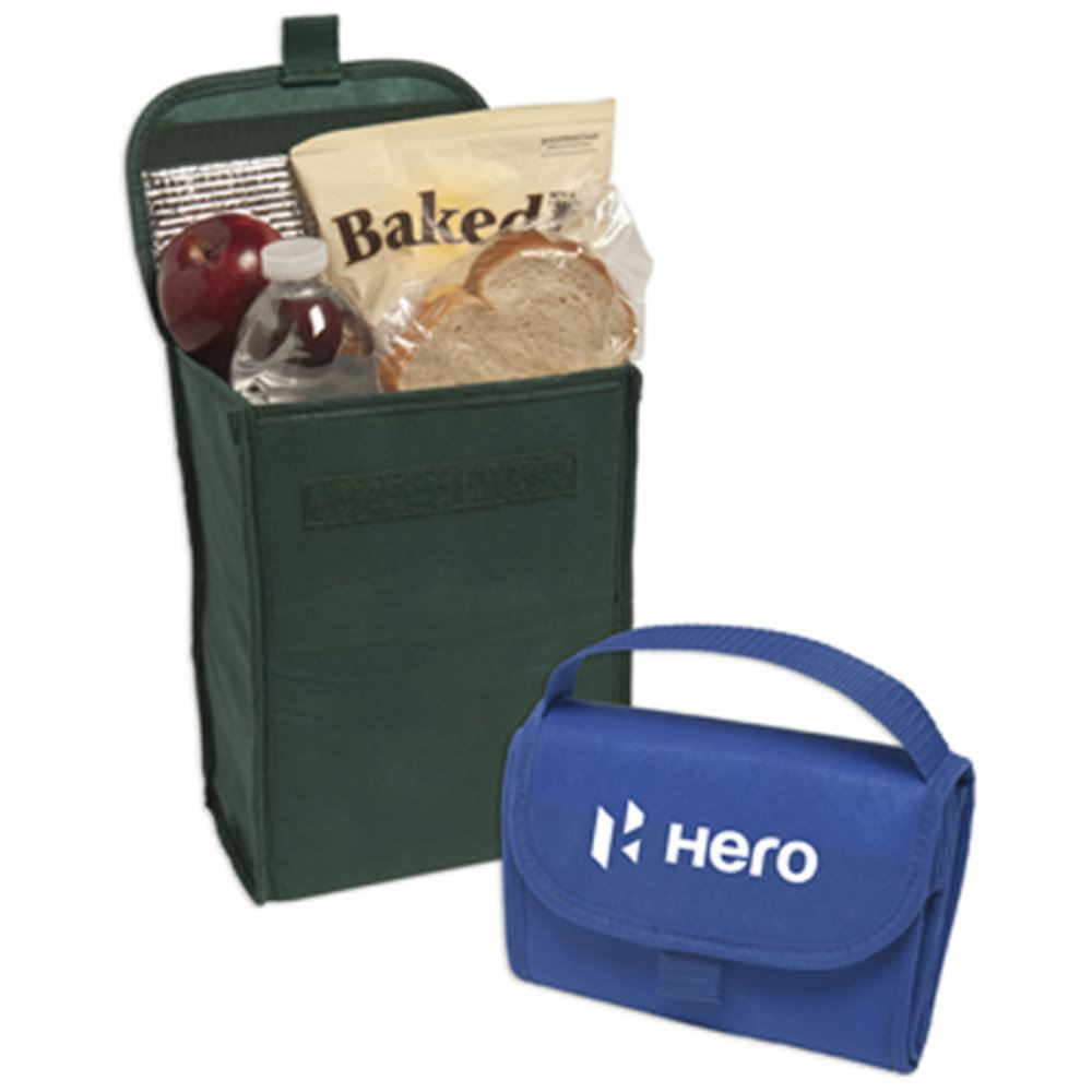 Non Woven Foldable Lunch Bag Personalization Available