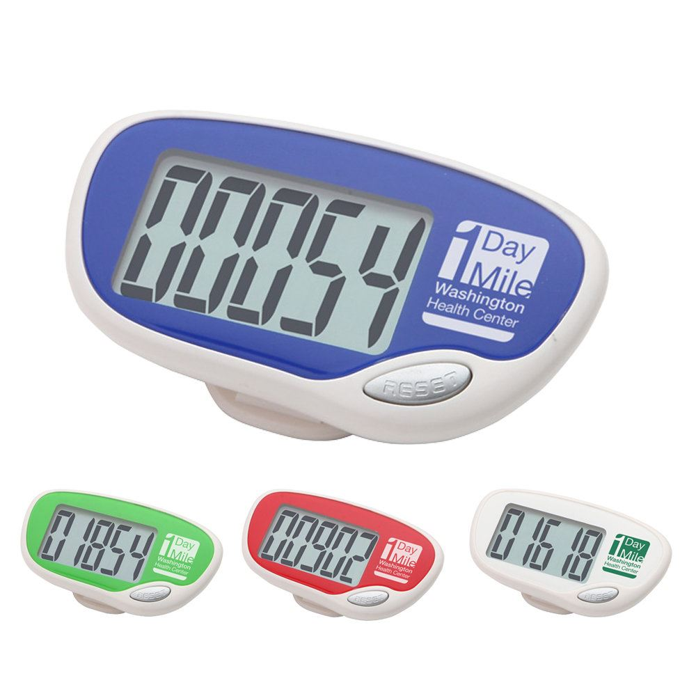 Easy Read Large Screen Pedometer - Personalization Available