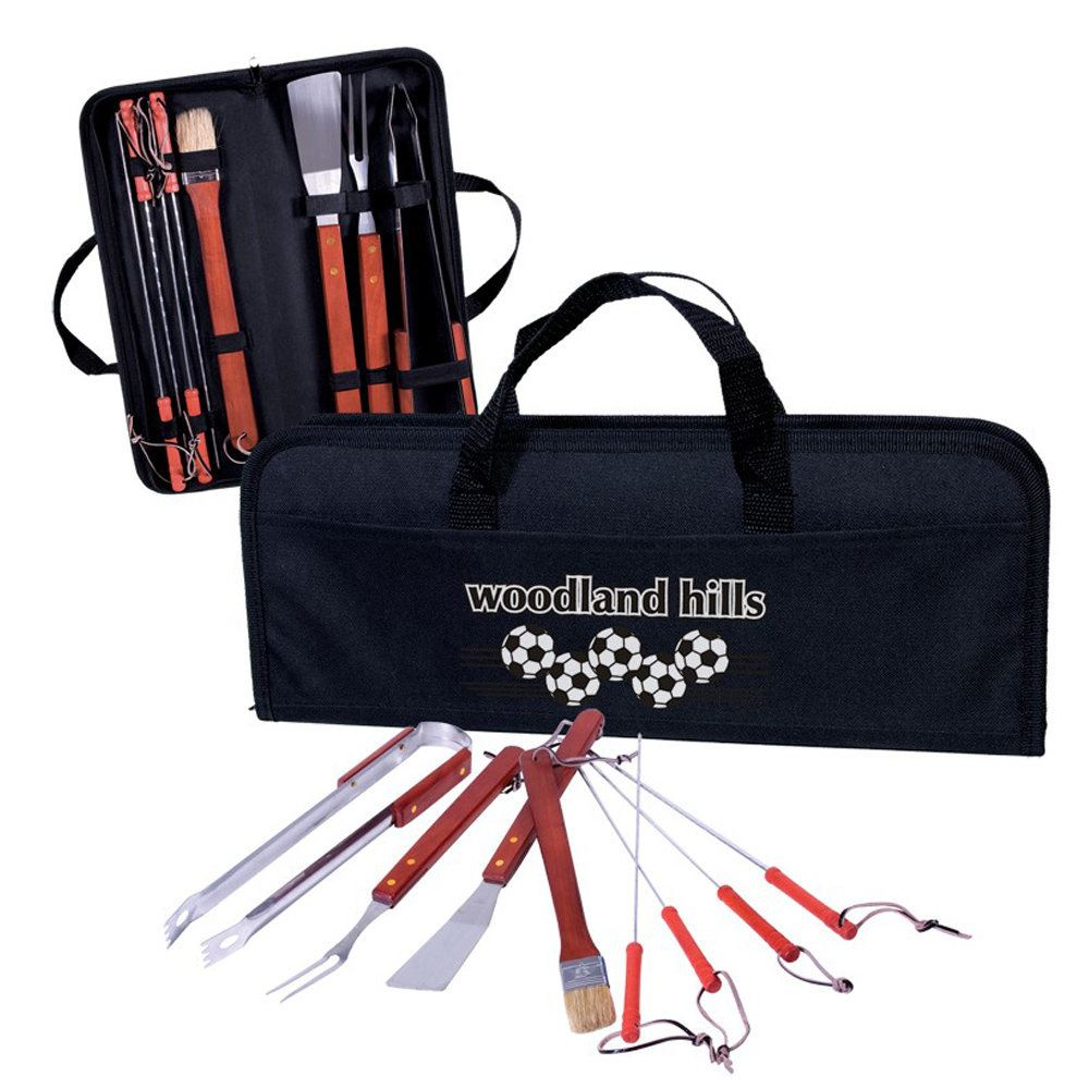 8-Piece BBQ Set - Personalization Available