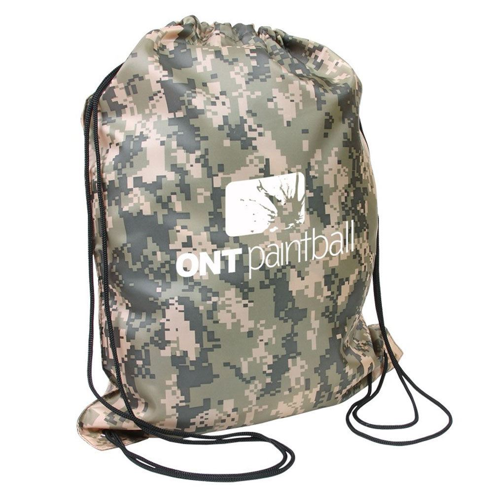 Camo Drawstring Backpack - Personalization Available