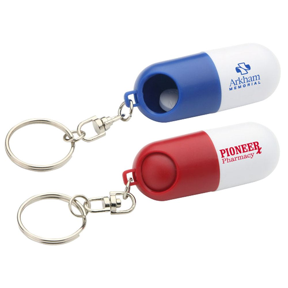 Twist-A-Pill Key Chain - Personalization Available