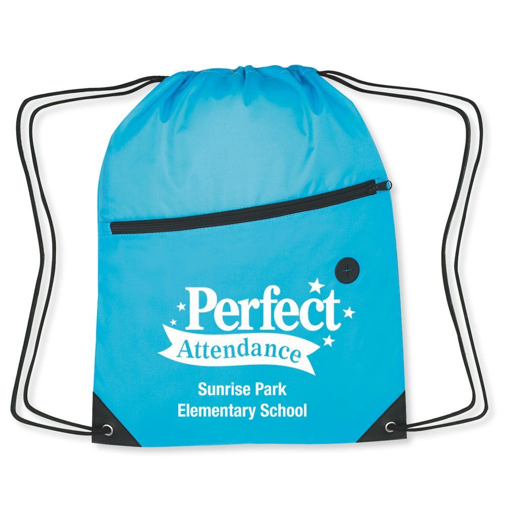 Perfect Attendance Backpack - Personalization Available