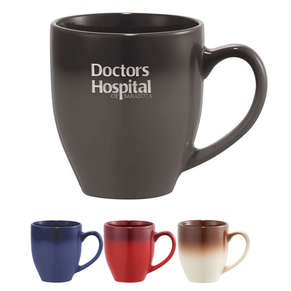 Bistro Ceramic Mug 16-Oz. - Personalization Available