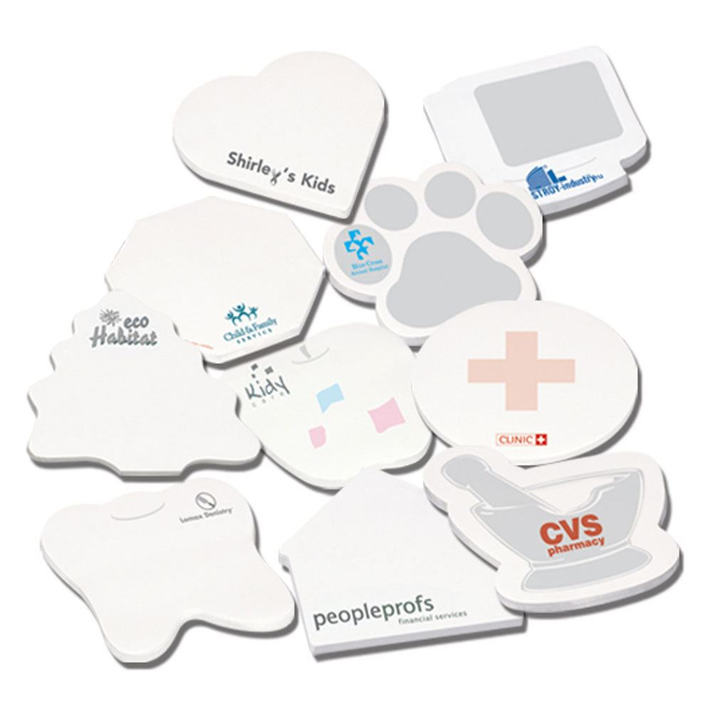 Eco-Friendly Adhesive Stickypads - Personalization Available