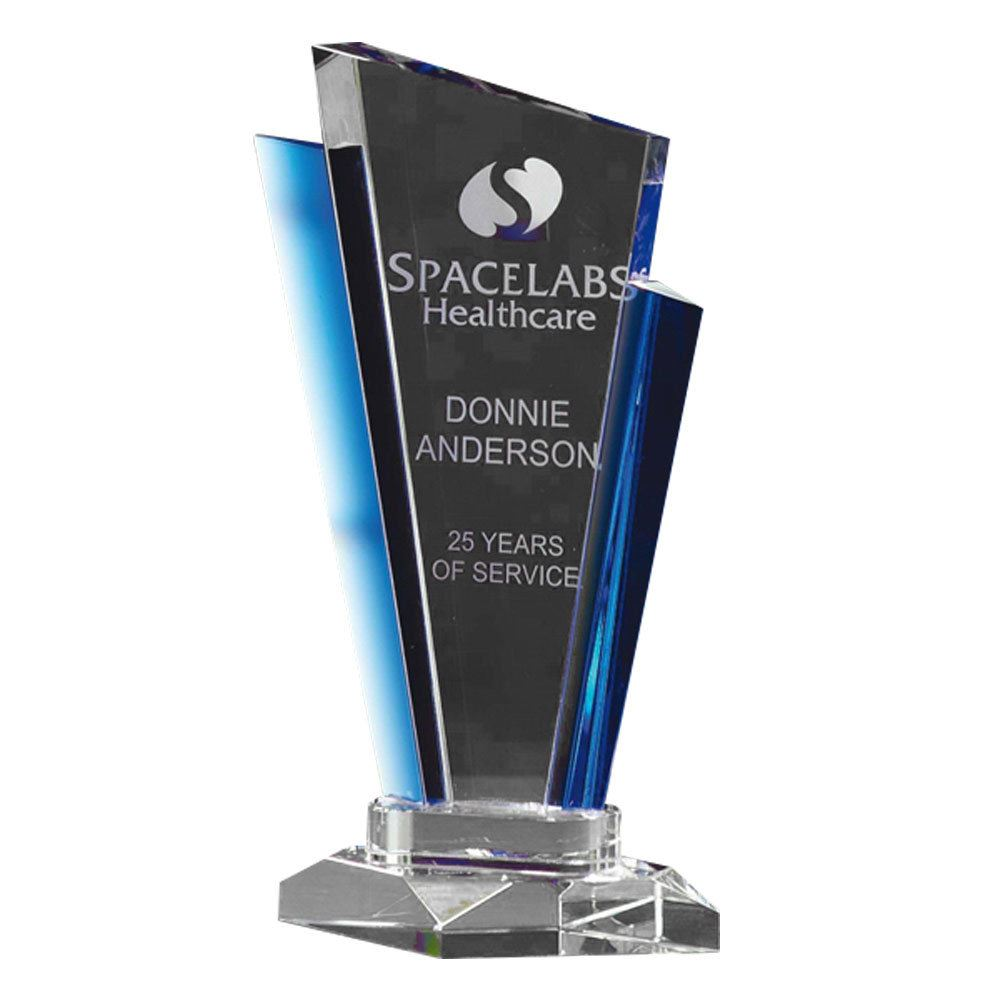 Large Inclination Cobalt Optically Perfect Award - Personalization Available