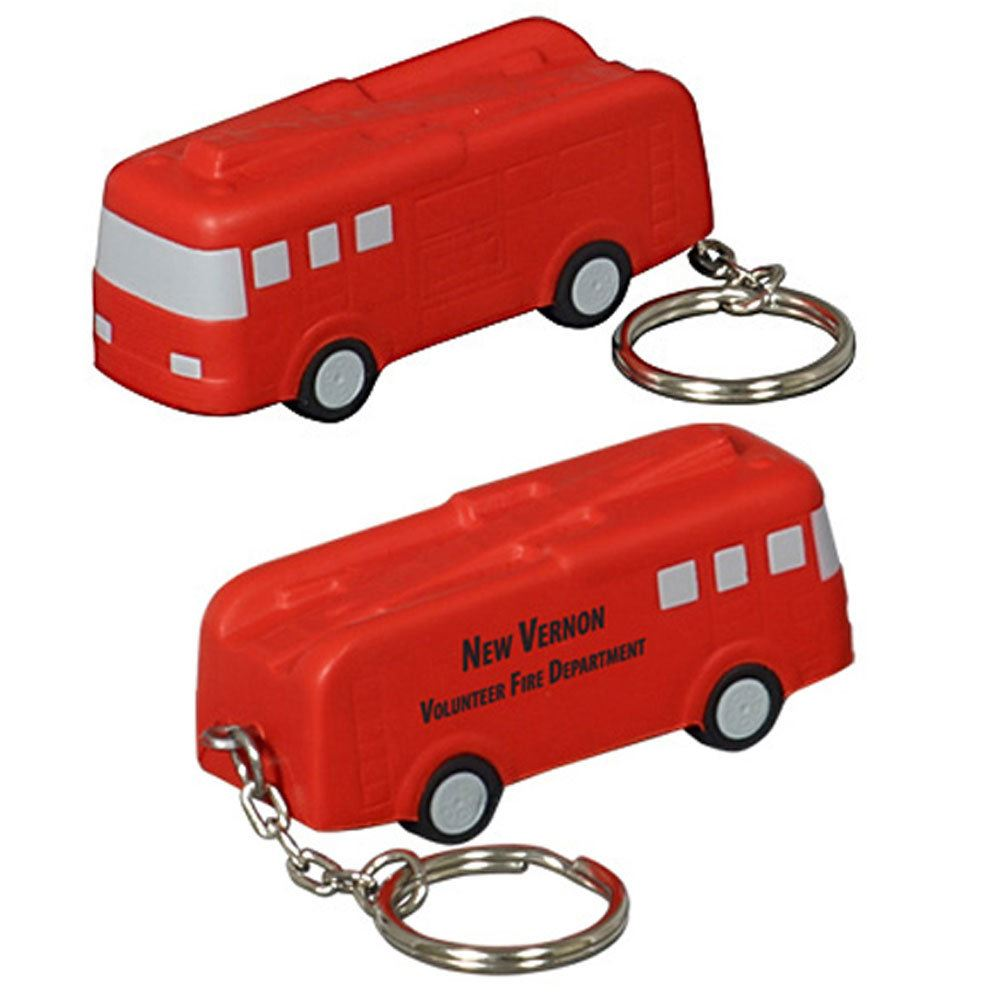 Fire Truck Keychain - Personalization Available
