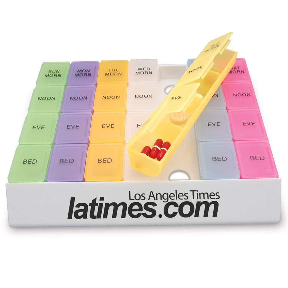 Medicine Tray Organizer - Personalization Available