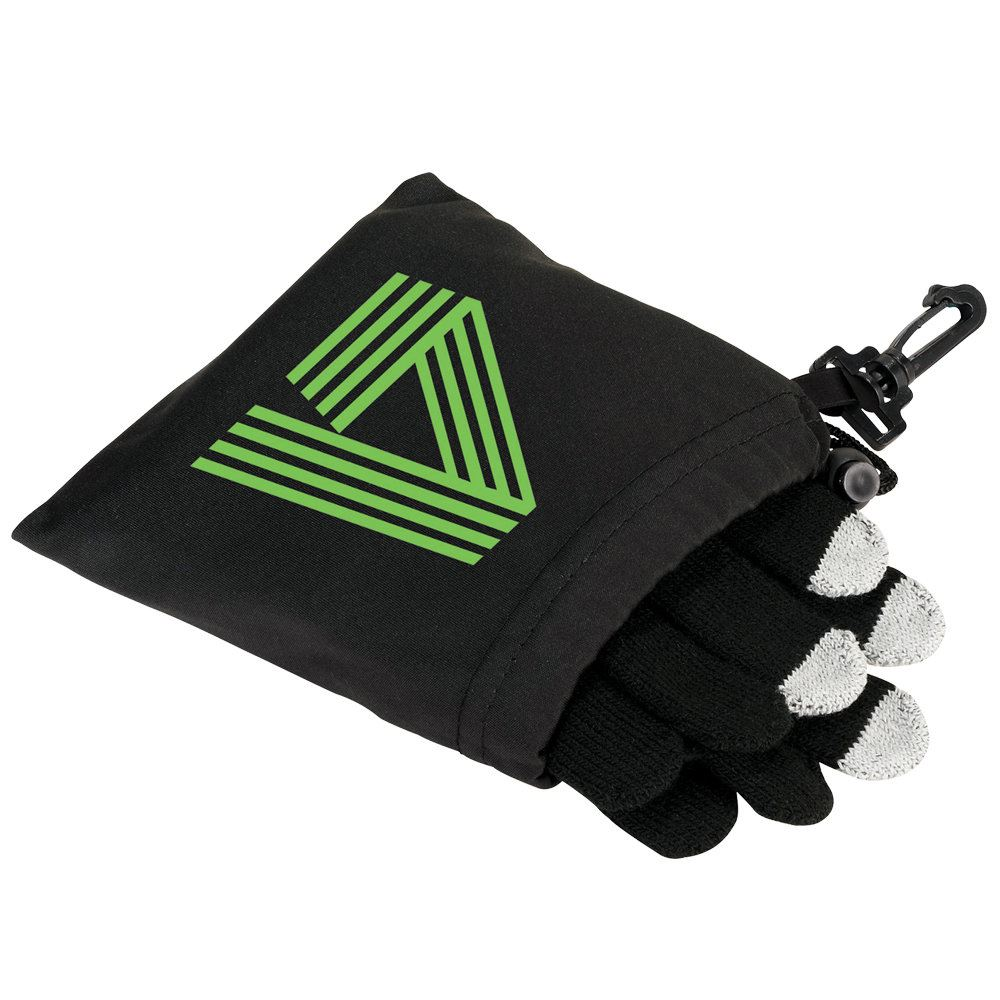 Regular Size Touch Screen Acrylic Fiber Gloves - Personalization Available