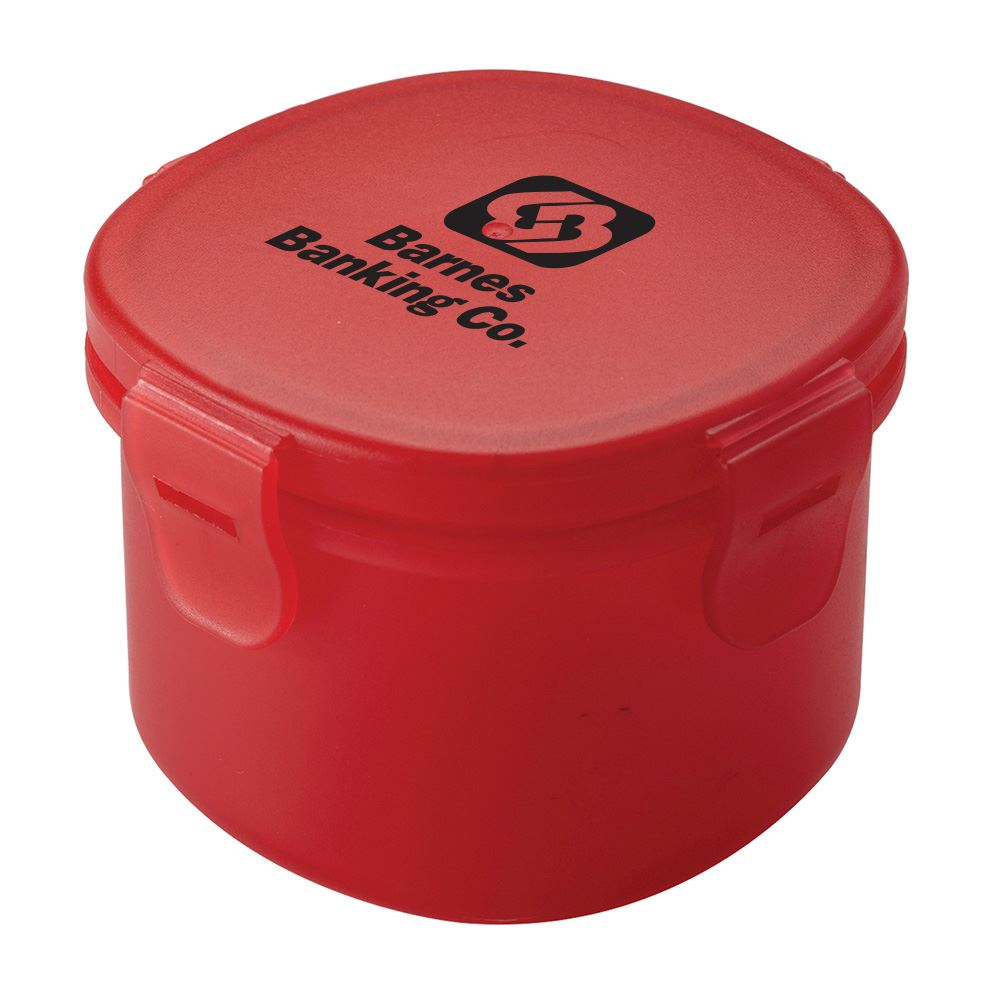 Snap-Lock Snack Container - Personalization Available