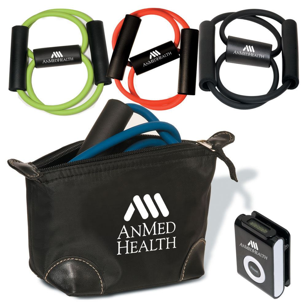 Exercise Kit In Pouch - Personalization Available