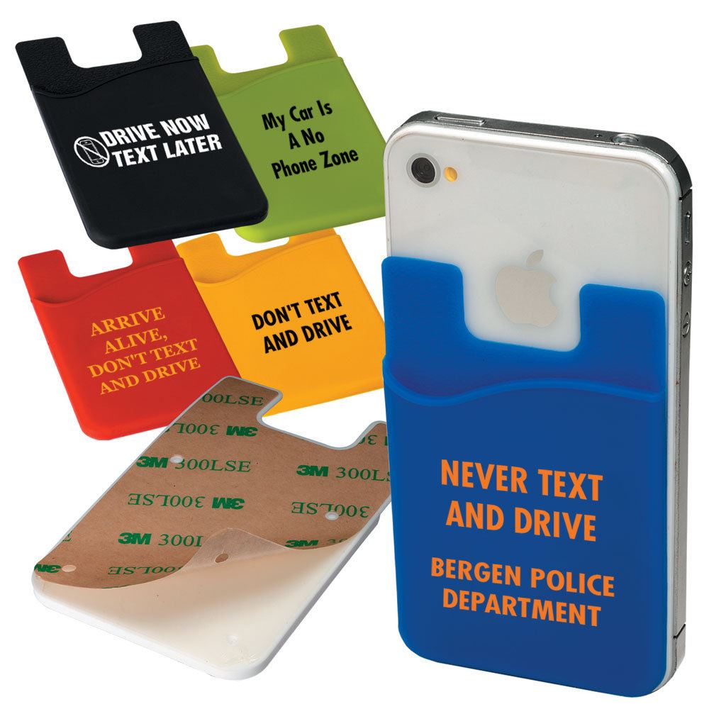 Econo Silicone Mobile Device Pocket - Personalization Available