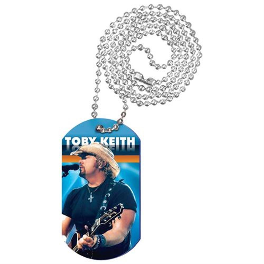 Full-Color Digital Dog Tag With Chain - Personalization Available