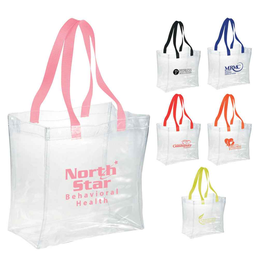 Rally Clear Tote - Personalization Available