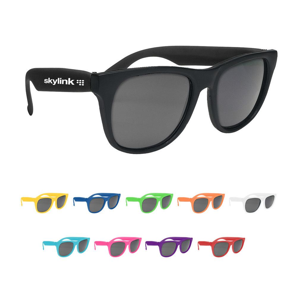 Budget UV Sunglasses � Solid Color - Personalization Available