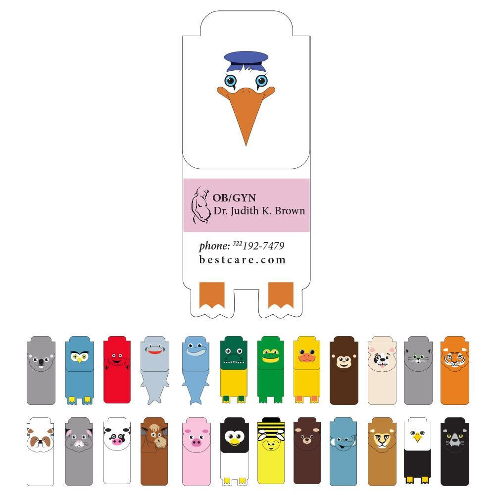 """""""PAWS""""itive Pals Magnetic Bookmark - Personalization Available"""