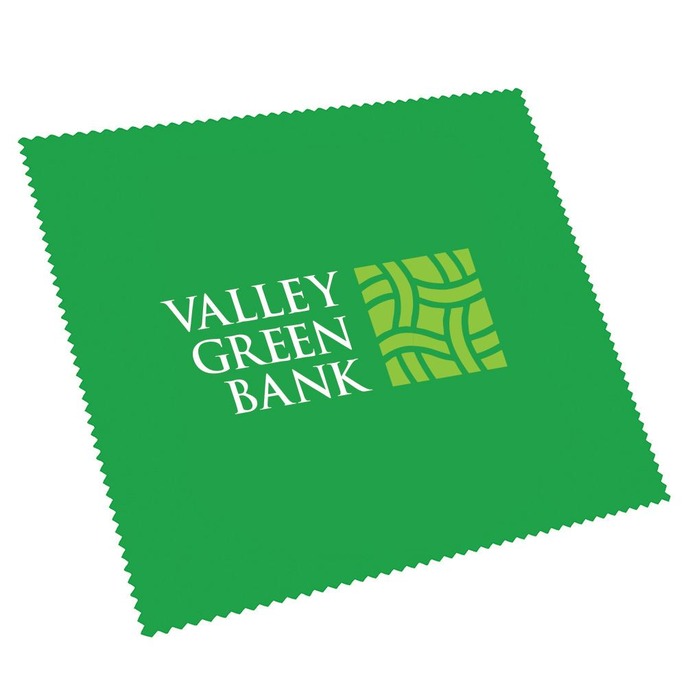 Pink Ribbon Microfiber Cloth - Personalization Available