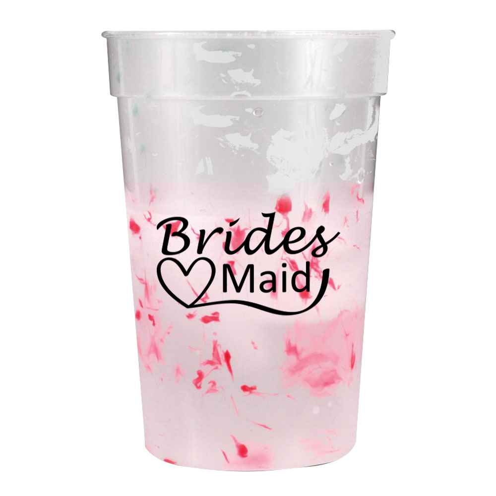 Color Changing Confetti Mood Stadium Cup 17-oz. - Personalization Available