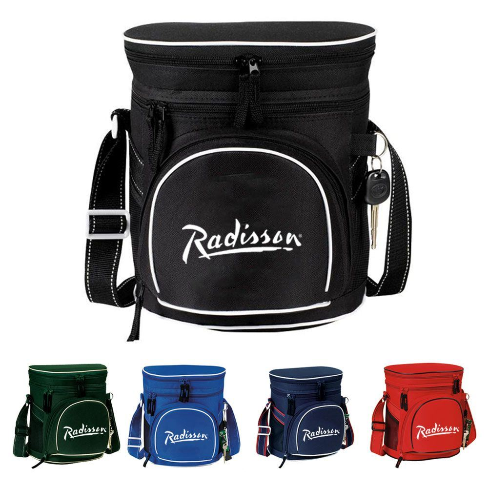 Double Compartment 12-Pack Golf Cooler - Personalization Available