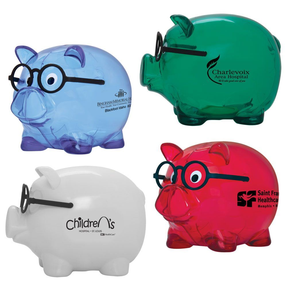 Smart Saver Piggy Bank - Personalization Available