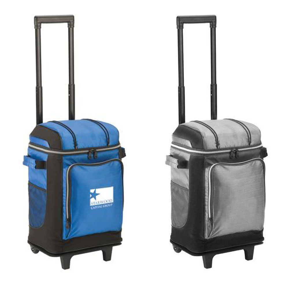 Coleman® 42-Can Soft-Sided Wheeled Cooler - Personalization Available