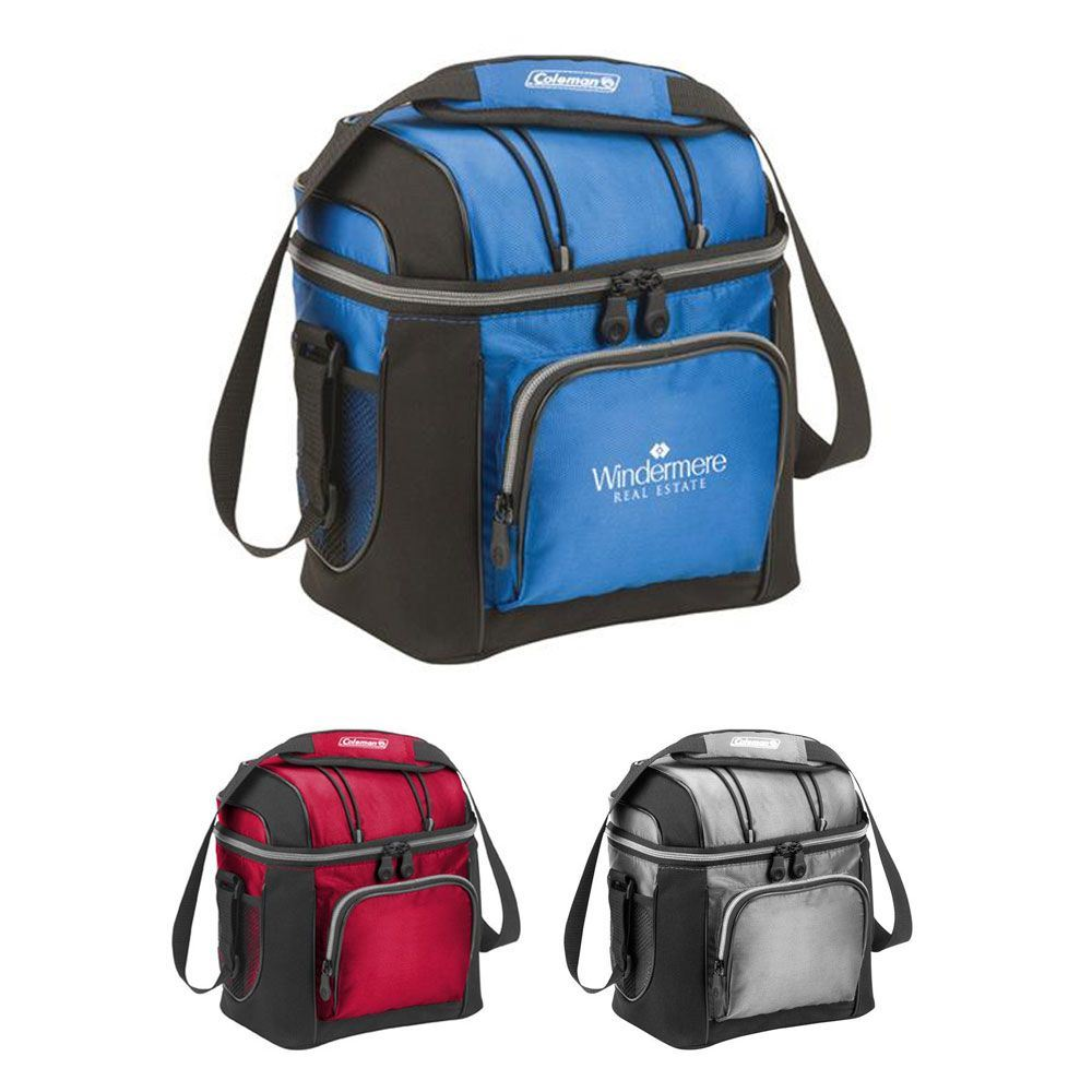 Coleman® 9-Can Soft-Sided Cooler with Removable Liner - Personalization Available