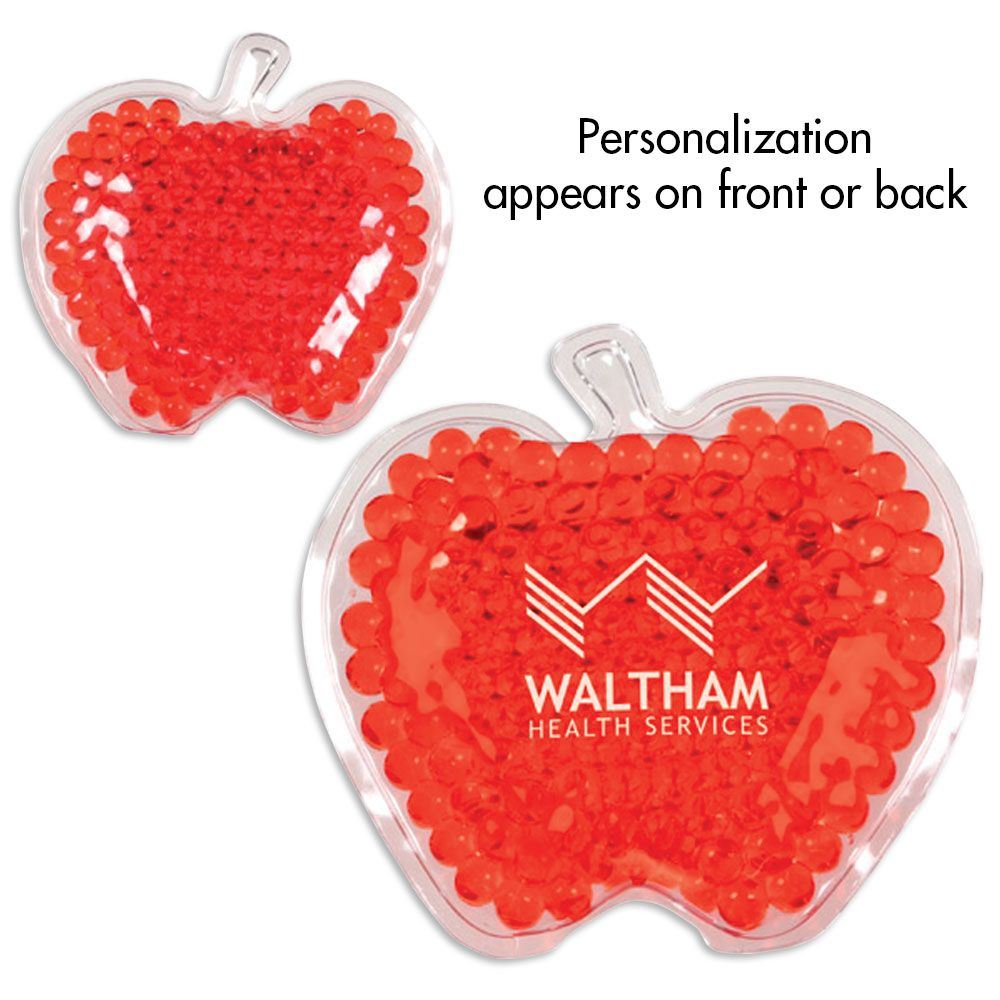 Aqua Bead Gel Hot/Cold Pack - Apple - Personalization Available