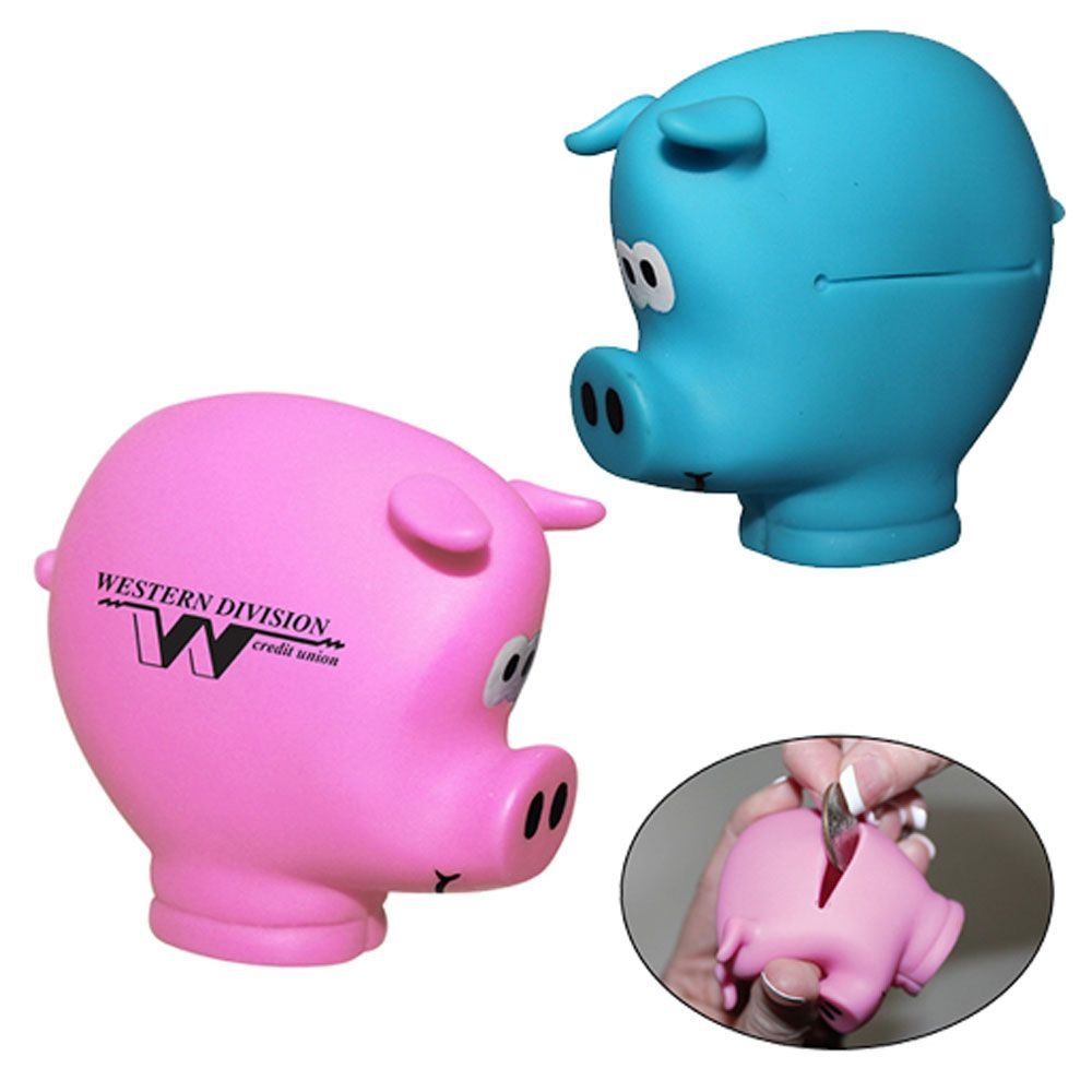 Pocket Piggy Coin Holder - Personalization Available