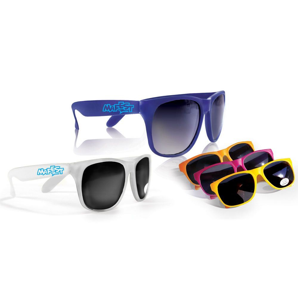Sun Fun Promotional UV 400 Protection Sunglasses - Personalization Available